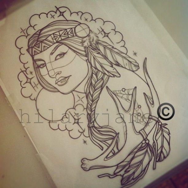 Wolf Tattoos For Women - http://amazingtattoogallery.com/wolf-tattoos-for-women/ #tattooart #tattoo #artdesign