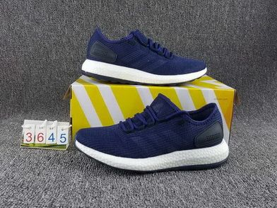 c10a92b39 Adidas Pure Boost Night Navy Core Blue Mystery Blue Ba8898 Sneaker Paint  Shoe