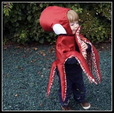 Jonquils & Ladybugs: Jackson's Octopus Costume