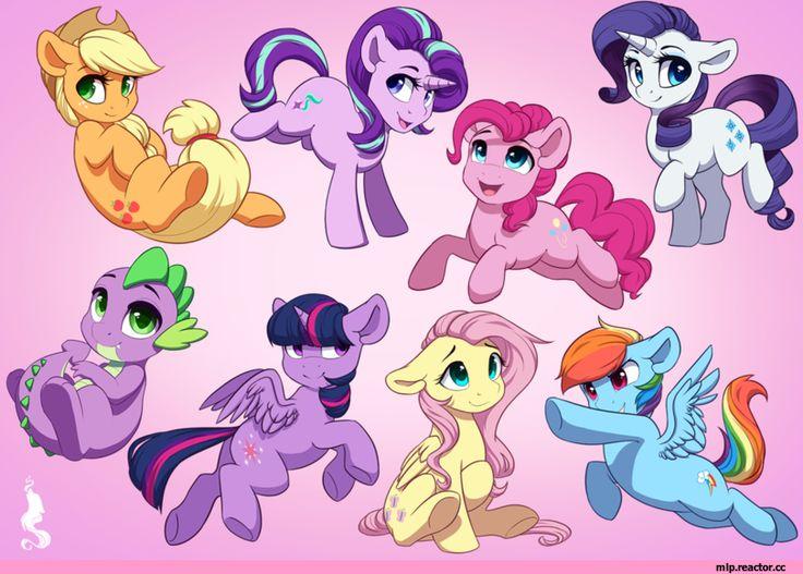 Starlight Glimmer,minor,my little pony,Мой маленький пони,фэндомы,Spike,Спайк,Applejack,Эпплджек,mane 6,Twilight Sparkle,Твайлайт Спаркл,Rainbow Dash,Рэйнбоу Дэш,Fluttershy,Флаттершай,Rarity,Рэрити,mlp art,Pinkie Pie,Пинки Пай,Silentwulv,artist