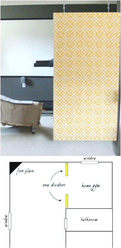 Diy Hanging Canvas Room Divider Batfinishing