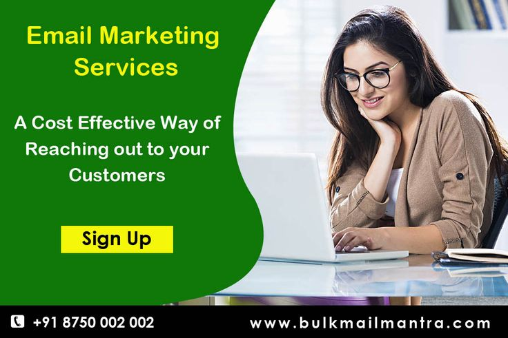 Bulk email marketing can be an efficient way for your business to expand, reach new customers, or keep your current clients updated on the latest products and services you're offering. # Call : +91 08750-002-002 # http://www.bulkmailmantra.com/