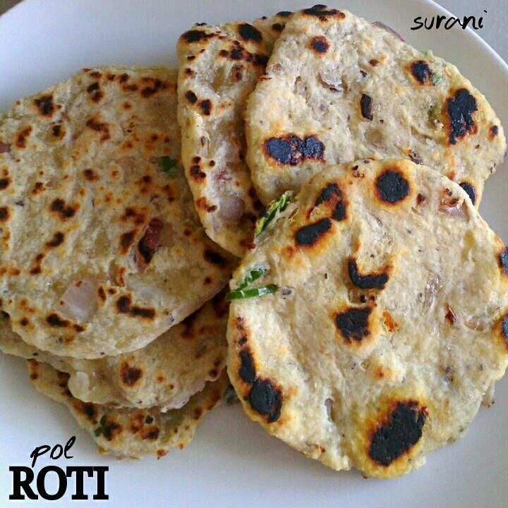 I think I started loving pol roti this much only when I started living away from home. I guess that's another one of those 'distance makes the heart grown fonder' incidents. These little roti's are easy to make, except they take a bit of time with all the shaping and cooking. But they stays fresh...Read More »