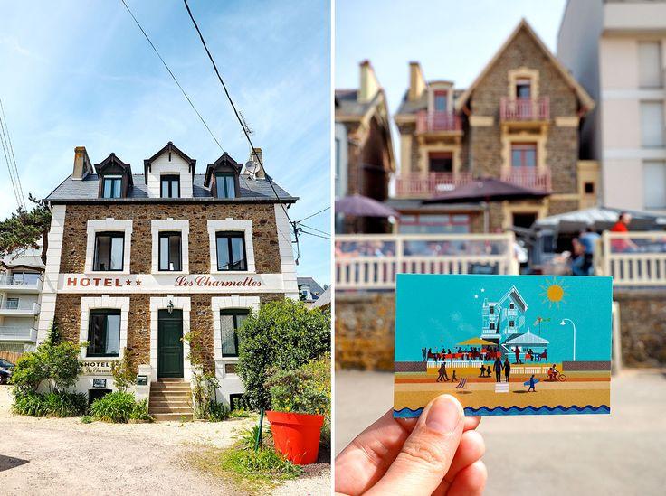 """Hotel Les Charmettes, Saint-Malo, Bretagne - Eine Reise mit """"Fee ist mein Name"""""""