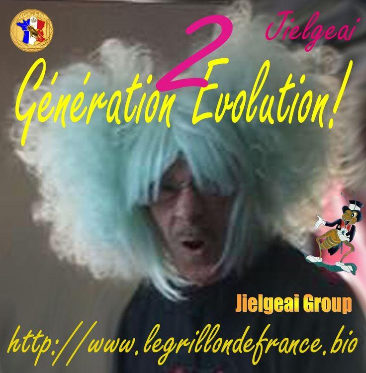 Generation evolution II  Merci de me donner votre avis sur cette parodie diffusée sur http://legrillondefrance.playtheradio.com à partir du 08 janvier 2015... Elle fera partie du tour de chant de ma Tournée 2016 si vous votez pour elle! https://www.youtube.com/watch?v=7Dkkd0GLMVA&feature=youtu.be