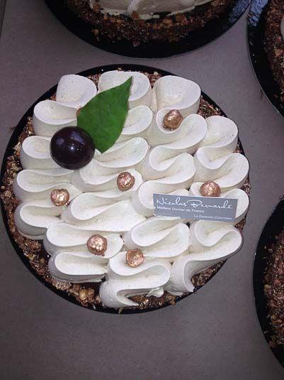 Pâtisserie la Tarte chocolat noisette fondante et croustillante