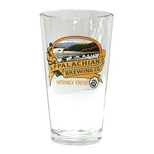 Appalachian Brewing Co. Pint Glass Your Price: $3.50 #BrewGear #PintGlass