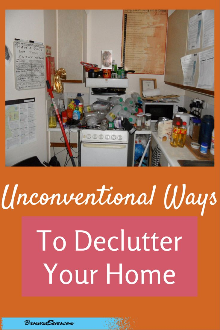 7 unconventional ways to declutter your home declutter for How to get rid of clutter in your home