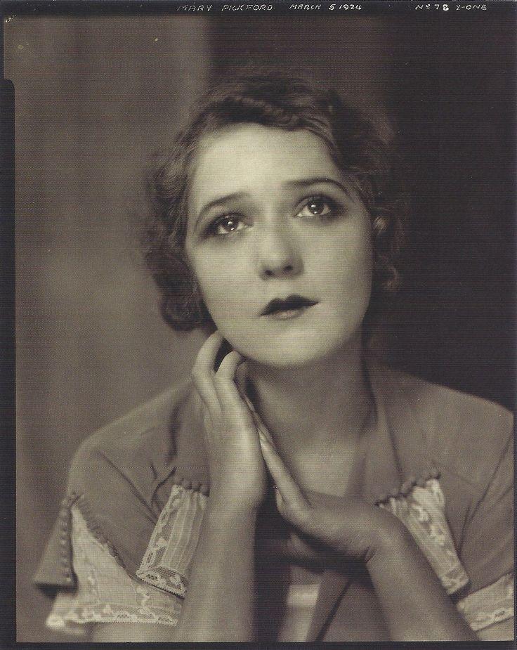 Mary Pickford, 1924 (Edward Steichen)