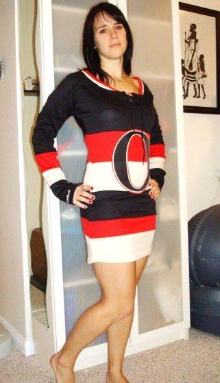 Ottawa Senators hockey jersey Dress