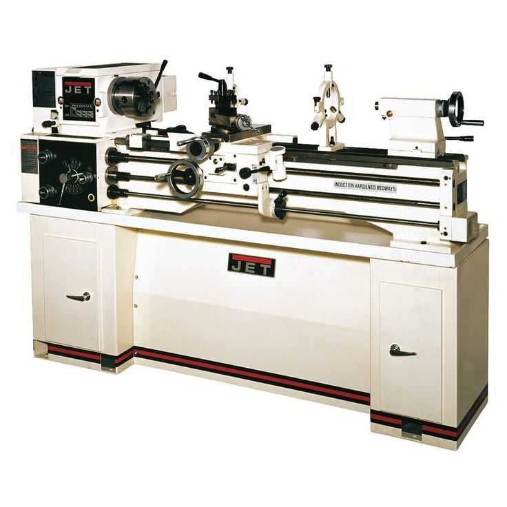 JET Jet Lathe w/Stand,2HP,1P,40 Center In - Lathes - 42W780|321102AK - Grainger Industrial Supply