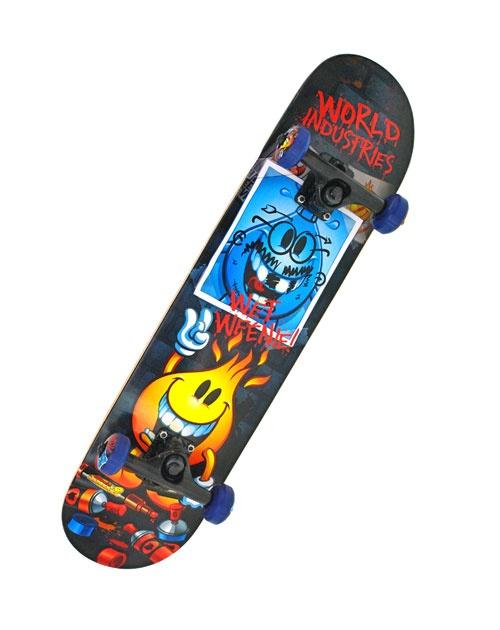 Complete Skateboard WORLD INDUSTRIES #skateboarding #world