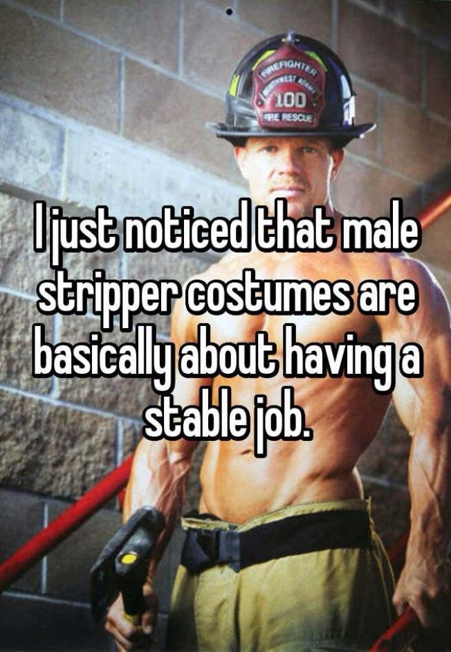 Bwhaha! It's true! Nothing is sexier than a responsible, hard working man!