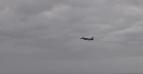 The Aviationist » Video from U.S. destroyer in the Black Sea as Russian Su-24 Fencer flies by