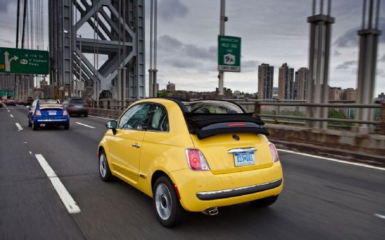 First Drive: 2012 Fiat 500 Cabrio Photo Gallery