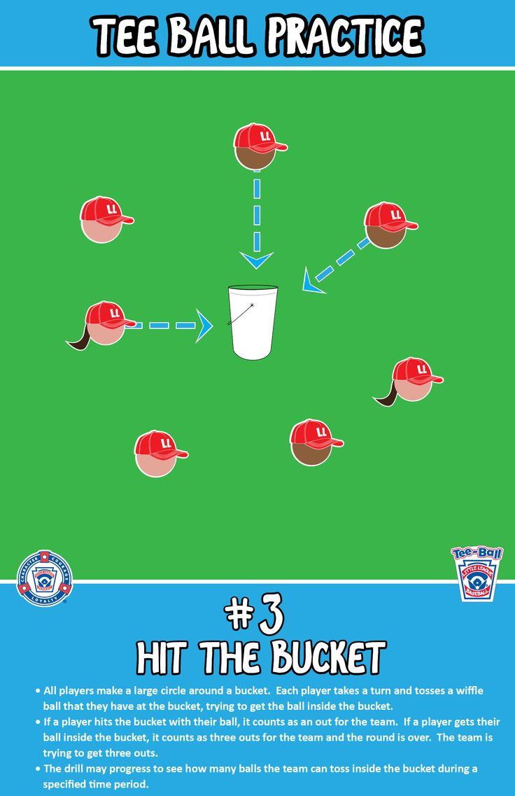 Hit the Bucket | T-Ball Practice |