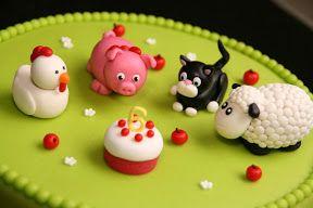 Boerderij taart