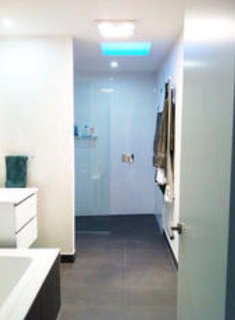 Design+Create Interior Design. Bathroom Space Planning.  www.designpluscreate.com.au