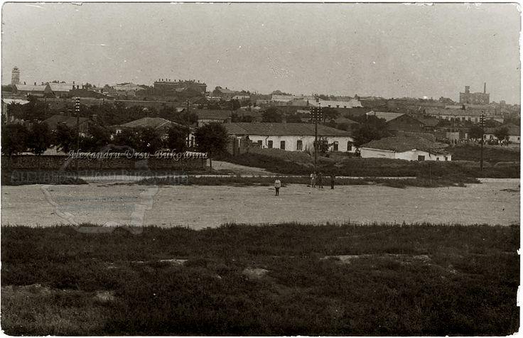 Oraşul românesc Cetatea Albă. Vedere generală.