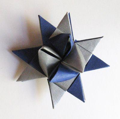 Etoile de Fröbel en papier, Déco Noël à fabriquer