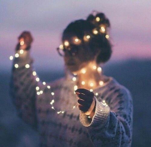 Imagen de girl and light