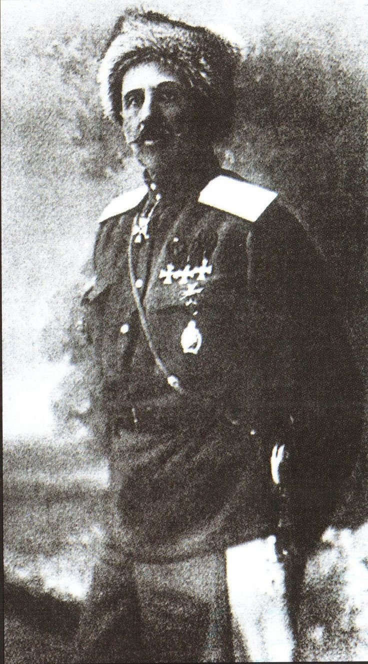 WWI, February Revolution, Russia; General Keller, one of the few officers who actively supported the tsar.