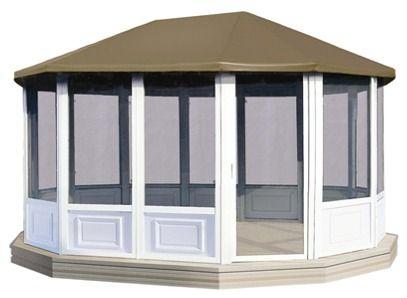 outdoor metal gazebo screen houses 1