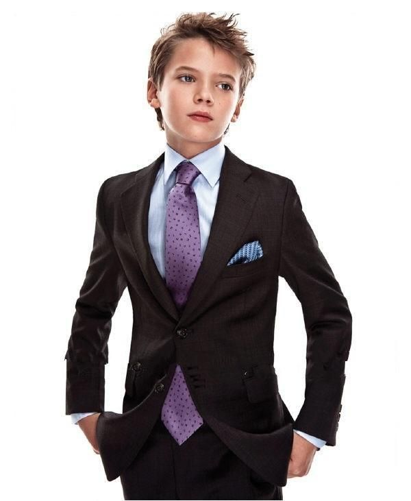 Popular Brown Page Boy Suit Boy Wedding Suit Boys' Formal Occasion Attire Custom Made Suit Tuxedo Boy Dress Wear Boy Formal From Luxurybridal2014, $56.97| Dhgate.Com