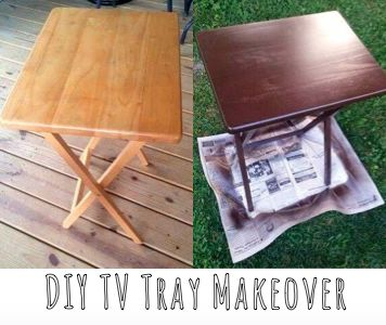 All These Little Moments: DIY T.V. Tray Makeover