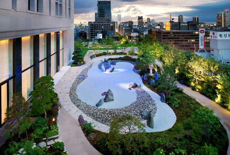 The St. Regis Osaka - Garden - Japan & Luxury Travel Advisor – luxurytraveltojapan.com - #Luxuryhotels #Osaka #Japan #Japantravel #stregisosaka