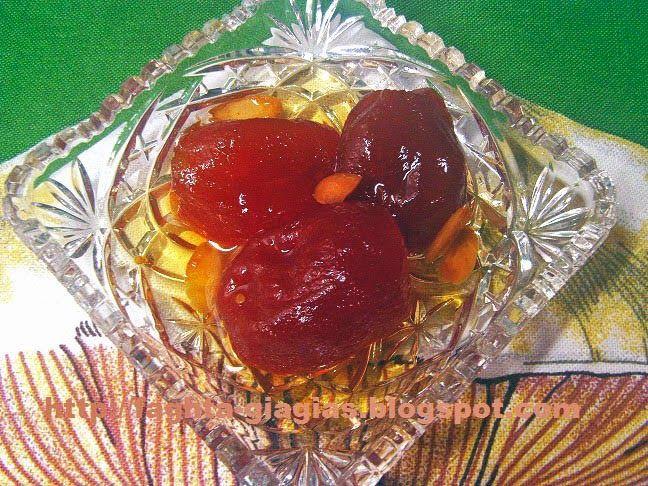 Ντοματάκι γλυκό του κουταλιού - Τα φαγητά της γιαγιάς