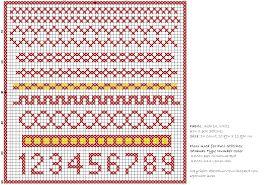 Afbeeldingsresultaat voor kruissteek borduurpatronen gratis, geometrische