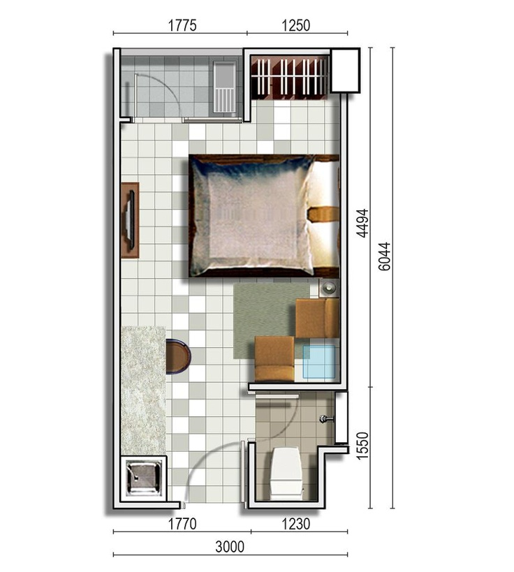 Type 1 Bedroom