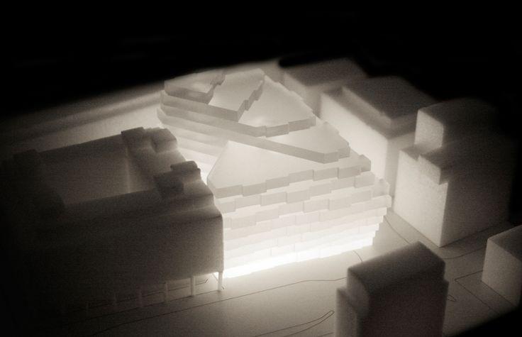 Kjellander + Sjöberg Architects - Snäckan 8 - Physical model