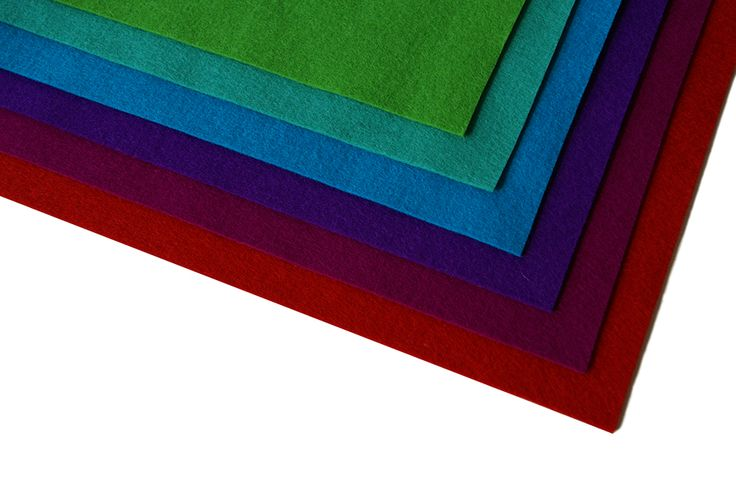 You can find 80 dyed colours in our collection. Visit our website http://www.hollandfelt.nl/en/ for all the colours