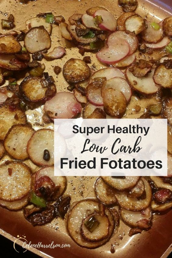 Low Carb Fried Fotatoes