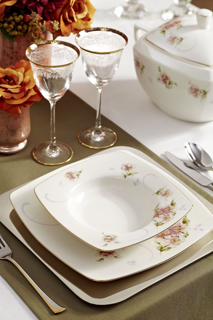 Spring Festival Yemek Takımı / Dinnerware Set #bernardo #mutfak #kitchen #yemek #dinner #tabledesign