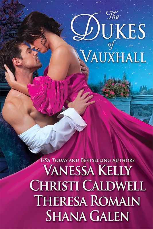 Historical romance anthology with Vanessa Kelly, Christi Caldwell, and Shana Galen. Available May 9, 2017.