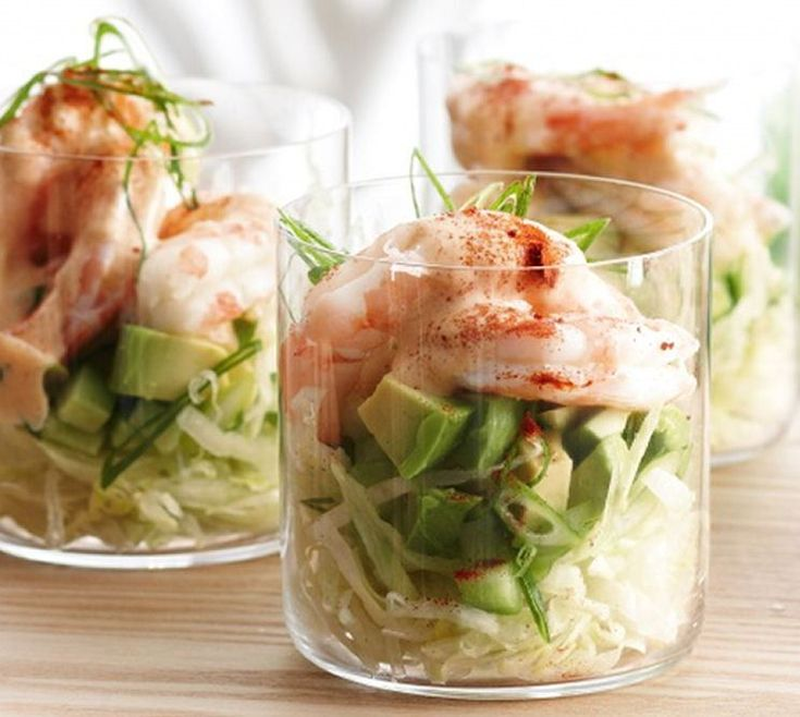 Prawn Cocktails with Smoky Mayonnaise - #Appetizers #Healthy #Snacks
