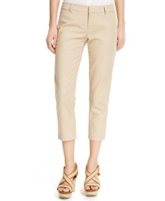 Tommy Hilfiger Double-Cloth Capri Pants