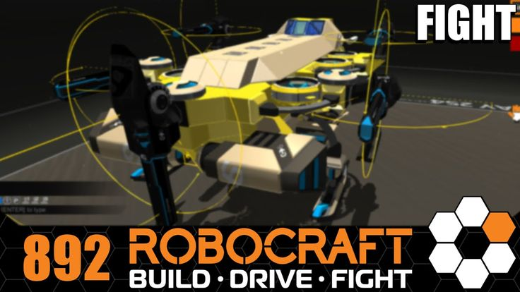 Robocraft 'Mira' Hover SMG Rail Let's Play