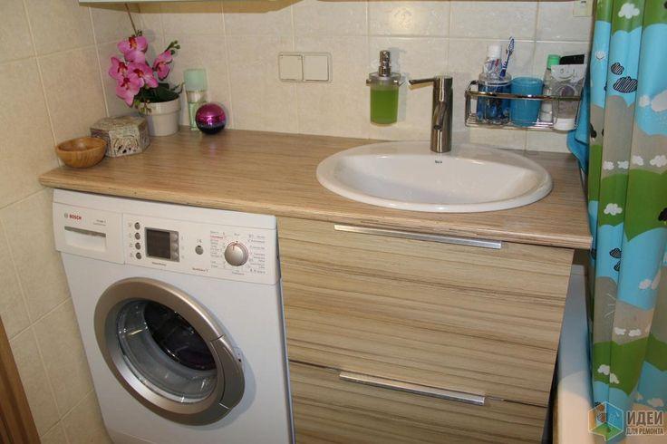 Столешница в ванную, столешница под раковину своими руками