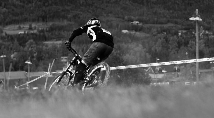 World Championships in Downhill MTB in Hafjell Bikepark, Norway. Great fun!  More images at www.tonjelilleaas.com