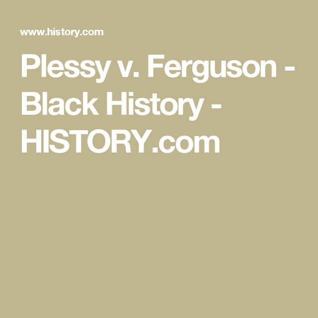 a case analysis of plessy v ferguson case and brown v board of education of topeka on the separate b Elliott case, the first of the five cases argued that would make their way to the us supreme court as brown v board of education, marshall.