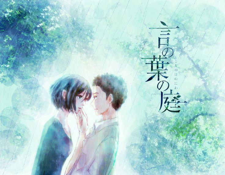 43 best Makoto Shinkai images on Pinterest Garden of words Anime