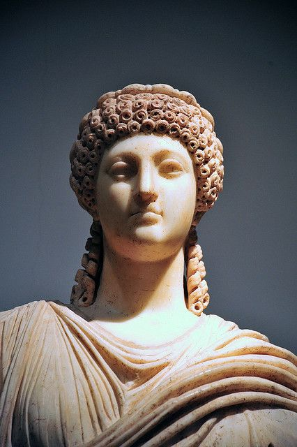 She was Nero's second wife, first half of first century AD POPPAEA  SABINA.