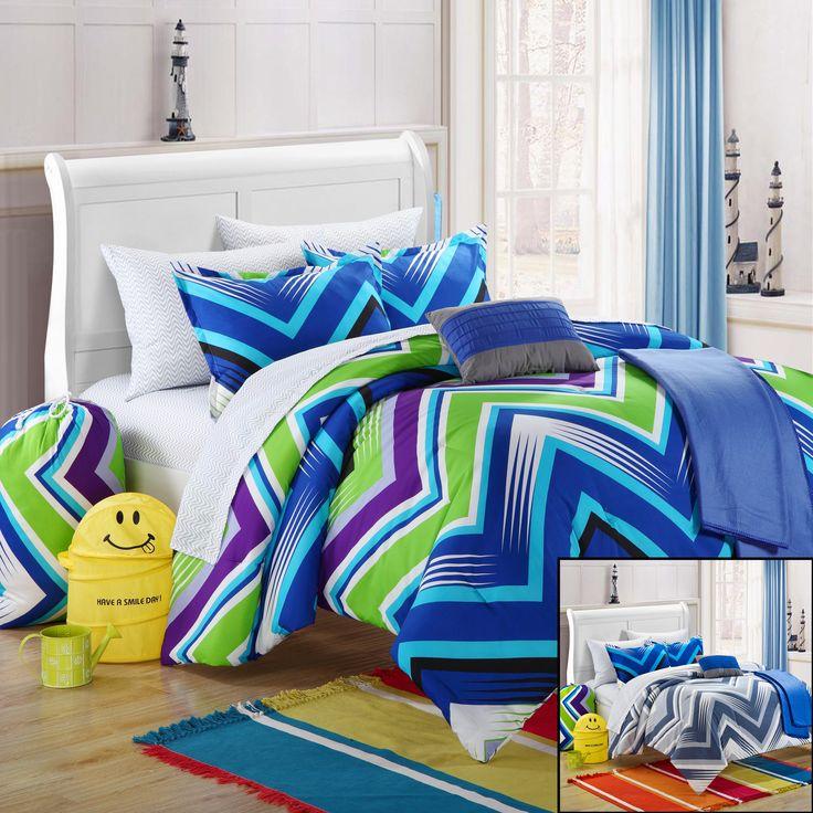 10 Best Chic Home College Dorm Bedding Sets Images On