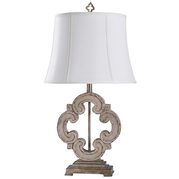 Cream Tuscany Sculptured Base Table Lamp Kirklands Lamp Table Lamp Cream Table Lamps