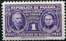 Francobolli - Lotta contro il cancro - Fight against cancer - Stamps Panama 1942