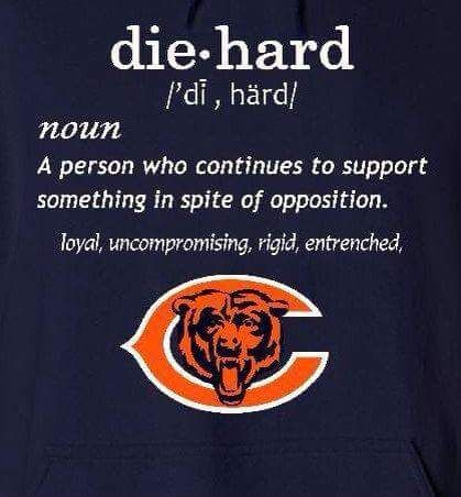 die hard bears fan